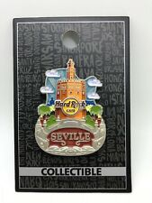 Hard Rock Cafe Seville Core City Icon Pin