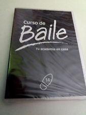 """DVD """"CURSO DE BAILE PASODOBLE III / SALSA IV"""" PRECINTADO SEALED 14 TU ACADEMIA"""