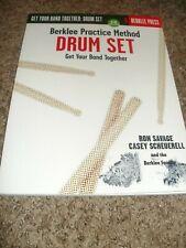 Berklee Practice Method Drum Set Get Your Band Together Savage & Cd