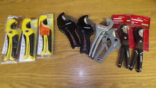 HUGE lot of HDX Ridgid Husky Apollo Pipe & Tube Cutters.