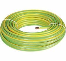 Cavo elettrico unipolare 1x10 mm / cordina massa giallo-verde 10 mmq (al metro)
