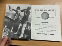 """1969 """"THE WORLD OF ANGLING"""" ILLUSTRATED LARGE HARDBACK BOOK (P5)"""