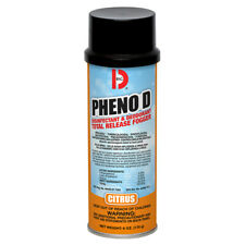 Big D 337 Pheno D Disinfectant & Deodorant Fogger, Citrus, 12/6oz