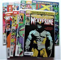 Marvel Comics True Believers X-Men Set of 10 books. Wolverine Magik New Mutants