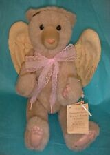 """New listing Wendy Brent Limited Edition Bear Enchanted Garden Heaven Scent Angel 1987 18"""""""