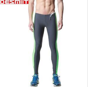Men Winter Warm Swimming Pants Fitness Run Sports Wetsuit Snorkeling Leggings