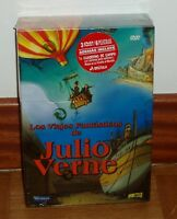 LA VUELTA AL MUNDO EN 80 DIAS-VIAJE AL CENTRO DE LA TIERRA PACK 3 DVD PRECINTADO