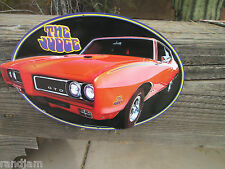 Pontiac GTO THE JUDGE Display Metal Signs 1971 Logo emblem excitement MAN CAVE