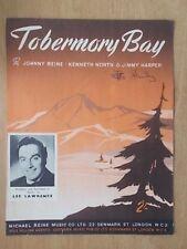 VINTAGE SHEET MUSIC - TOBERMORY BAY - LEE LAWRENCE