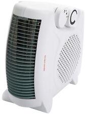 Status 2kw Fan Heater FH2P 2 Heat Settings Portable Thermostat 2000W Power UK