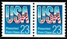 2606  23c USA  Pre-sort First Class  -Pair  - MNH