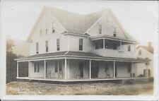 Aqua Inn Kingsley PA RPPC Real Photo vintage postcard postally used 1916