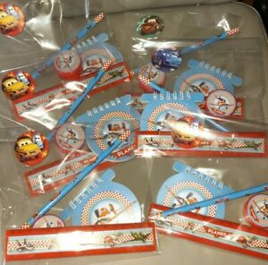 Joblot 6 x DiSNEY Planes Pre Filled Bags, Santas Grotto, Party Bags, School Fete