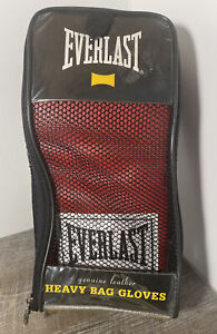 Everlast Training Gloves S/M (4306). Genuine Leather. Heavy Bag Gloves.