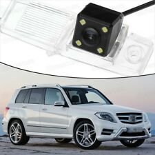 4 LED CCD Rearview Camera Review Parking Backup for M.Benz GLK-Class 2010-2015