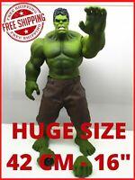 Huge 42cm Hulk Super Heroe Avengers Marvel Toys Action Figure Legends Kids Comic