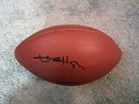 ANTONIO BROWN AB Pittsburgh Steelers Autographed SIGNED Football w/ BAS COA NFL