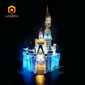 LED Light Kit for 71040  Disney Castle LIGHTING MY BRICKS Cinderella 71040 kit