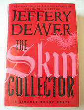 THE SKIN COLLECTOR BY JEFFREY DEAVER SIGNED 1st ED HC/DJ