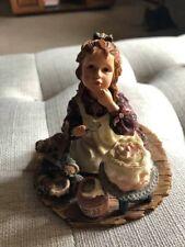 Boyds Yesterdays Child Dollstone Sarah Anne Duncan Icing Cake Figurine 3560