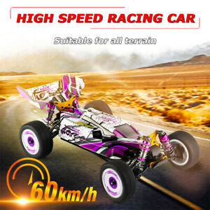 Wltoys 124019 Racing Car 60km/h 1/12 2.4GHz RC Car 4WD Off-Road Drift Car RTR
