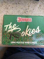 🔥 1990 Donruss The Rookies Baseball Factory Set Box Many Rookies. Alomar Rookie