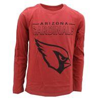 Arizona Cardinals Official NFL Apparel Kids Youth Size Long Sleeve Shirt New