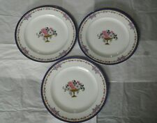 "LIMOGES Ovington Bros. New York Salad Plates France 8 1/2"" Lot of 3"