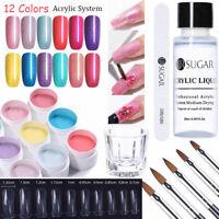 UR SUGAR 15ML Acrylique Poudre Liquide UV Gel Faux Ongle Extension Nail Art Kits