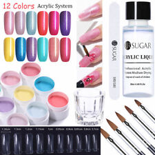 UR SUGAR 15ML Acrylique Poudre Liquide UV Gels Faux Ongle Extension Nail Art Kit