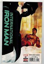 INTERNATIONAL IRON MAN #5 - ALEX MALEEV ART & COVER - MARVEL COMICS - 2016