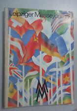 Leipziger Messe journal/catalogue 1981 RDA Leipzig Printemps-Messe automne-Foire