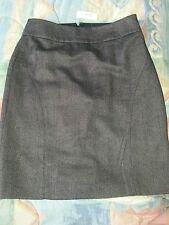 BANANA REPUBLIC black tweed lined pencil skirt -size 8. -NWT!