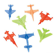 Pack of 12 - Airplanes Figures - Party Loot Bag Stocking Fillers