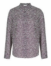 Marks and Spencer Polyester Collared Casual Women's Tops & Shirts