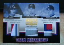 2005 Prime Patches - Team Materials - Montreal Expos - Vidro,Vazquez,Armas Jr