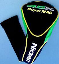 Nickent 4DX SuperMag Super Magnum Green Black Driver Head-Cover 4 Dx