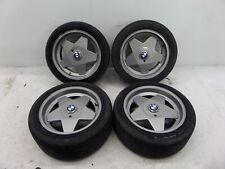 "BMW Borbet Type A 17"" Wheels E30 M3 E34 E39 5 Series E28 E21 OEM ET13 Damaged"