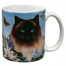 Himalayan Cat Garden Party Fun Mug