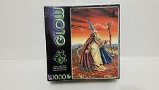 Glow In The Dark Puzzle New Sealed Earth And Fire Wizard 2007 1000 Pcs 48Cm X 73