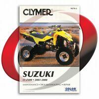 2003-2008 Suzuki LT-Z400 Repair Manual Clymer M270-2 Service Shop Garage