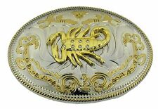 Big Scorpion Belt Buckle Zodiac Sign Cowboy Fashion Metal New Rodeo Mens Western