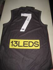 St.Kilda - Lenny Hayes signed #7 back of St.Kilda FC Jersey - COA - Photo Proof