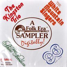 Kingston Trio Folk Era Sampler CD White Mountain Singers Shaw Brothers 1987
