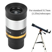 Professional 8-24mm Zoom Eyepiece Telescope Lens for Star Watch Astronomical TG