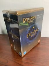 Lord of the Rings Trilogy Steelbook Lot (4K Uhd Blu-ray) Sealed Sold Out!