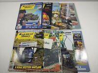 Vintage 1993 Railroad Model Craftsman Magazine Lot Of 9