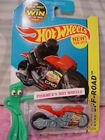 Case F 2015 Hot Wheels New STREET STEALTH motorcycle #83∞Red/Blue;29 CAO∞HW Moto