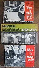 3 Gerald Gardner Satire Booklets - JFK, RFK, Nixon, Ike, etc.