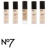 No7 Beautifully Matte Foundation Normal/Oily